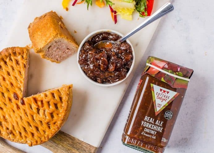 Serve alongside pork pie and cheese boards