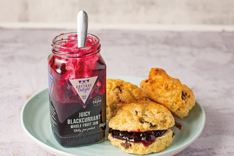Delicious on freshly baked scones!