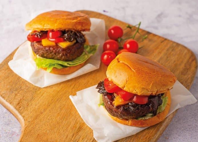 Caramelised Red Onion Chutney Burgers