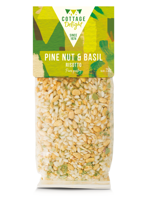 Pine, Nut & Basil Risotto