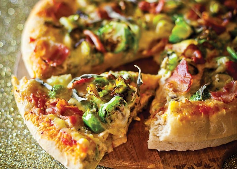 Salsa Sprout Pizza