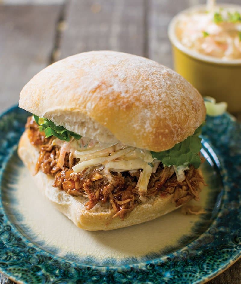 Hickory Smoked Barbecue Pulled Pork