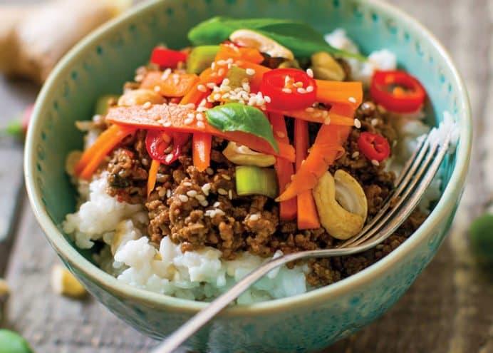 Thai Sweet Basil Beef