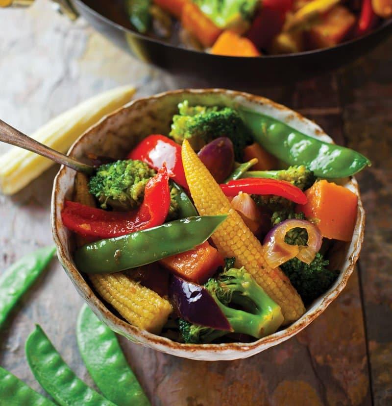 Thai Sweet Chilli stir fry