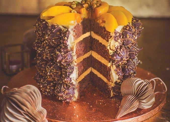 Heavenly Hazelnut Celebration Cake