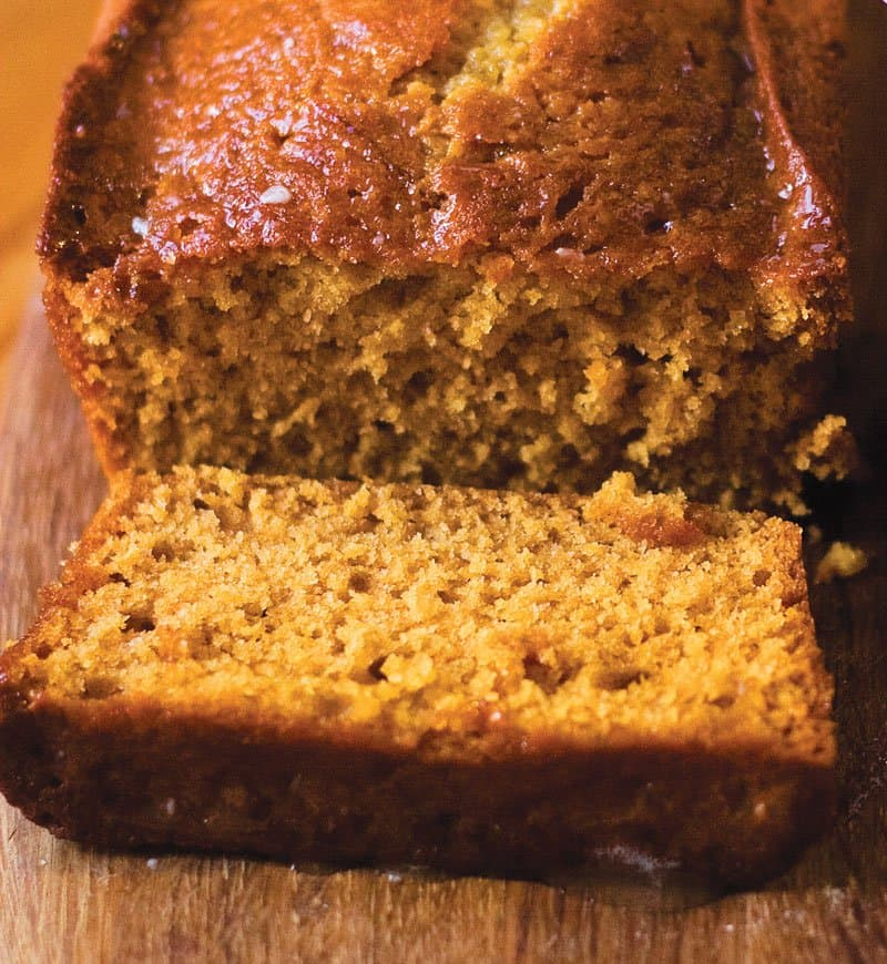 Moist Honey Cake with Glaze