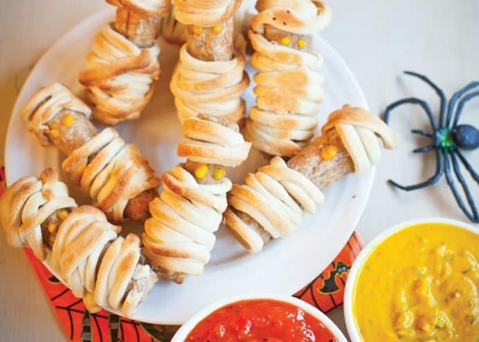 Mummy Sausage Rolls