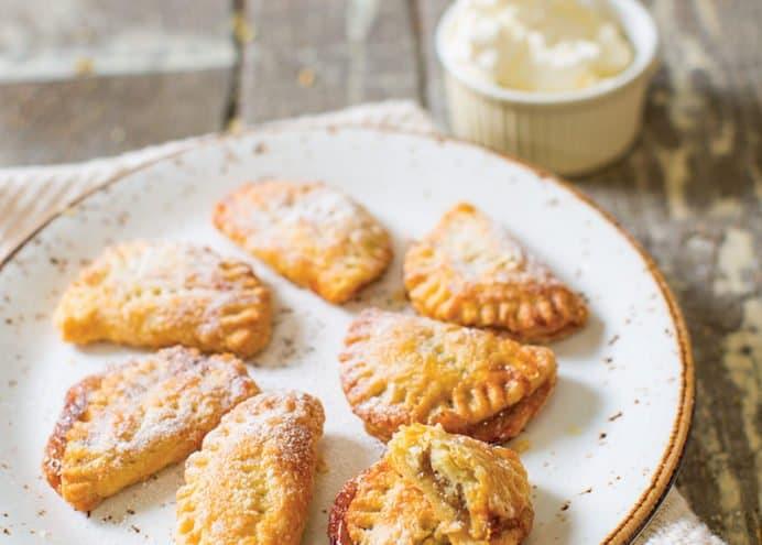 Rhubarb & Stem Ginger Pies