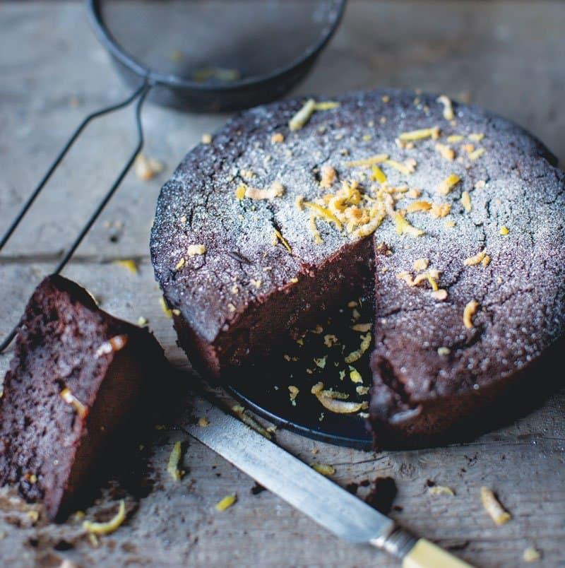 Whisky Marmalade Slump Cake