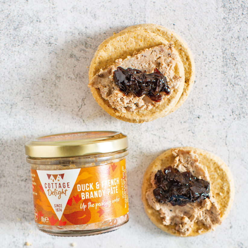 Duck & french brandy pate