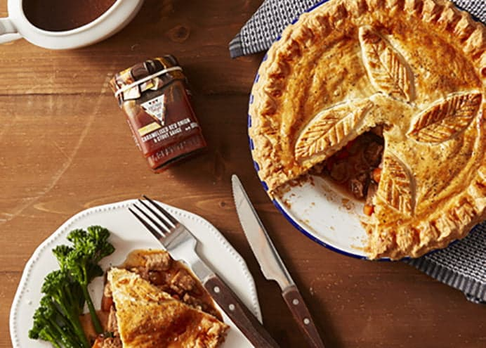 Red Onion & Stout Pie