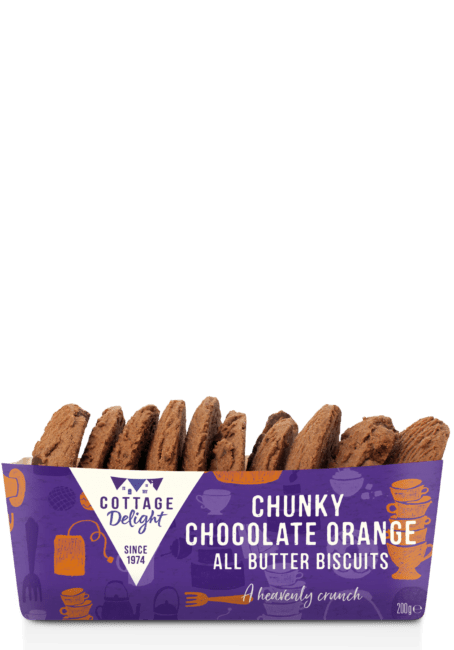 Chunky Chocolate Orange All Butter Biscuits