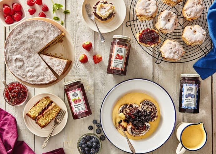 Great british pantry products