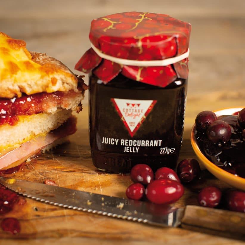 juicy redcurrant jelly