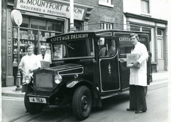Our journey- old photo of cottage delight