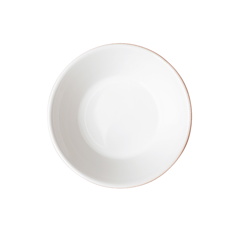 Terracotta dipped dish