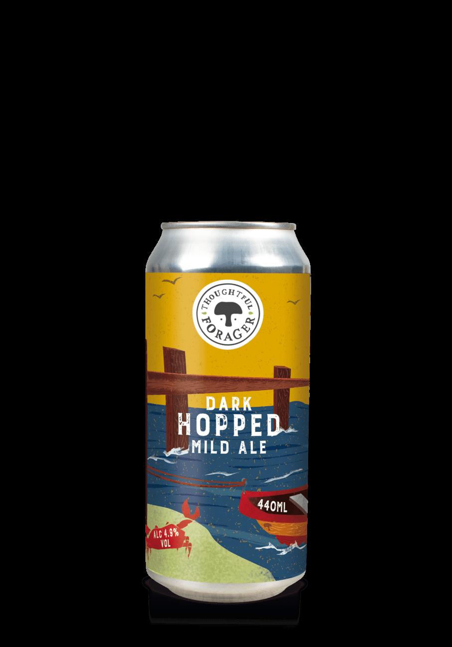 Dark hopped mild ale