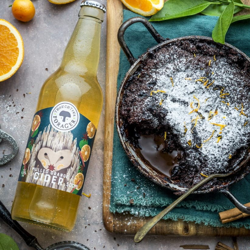 Mulled orange cider