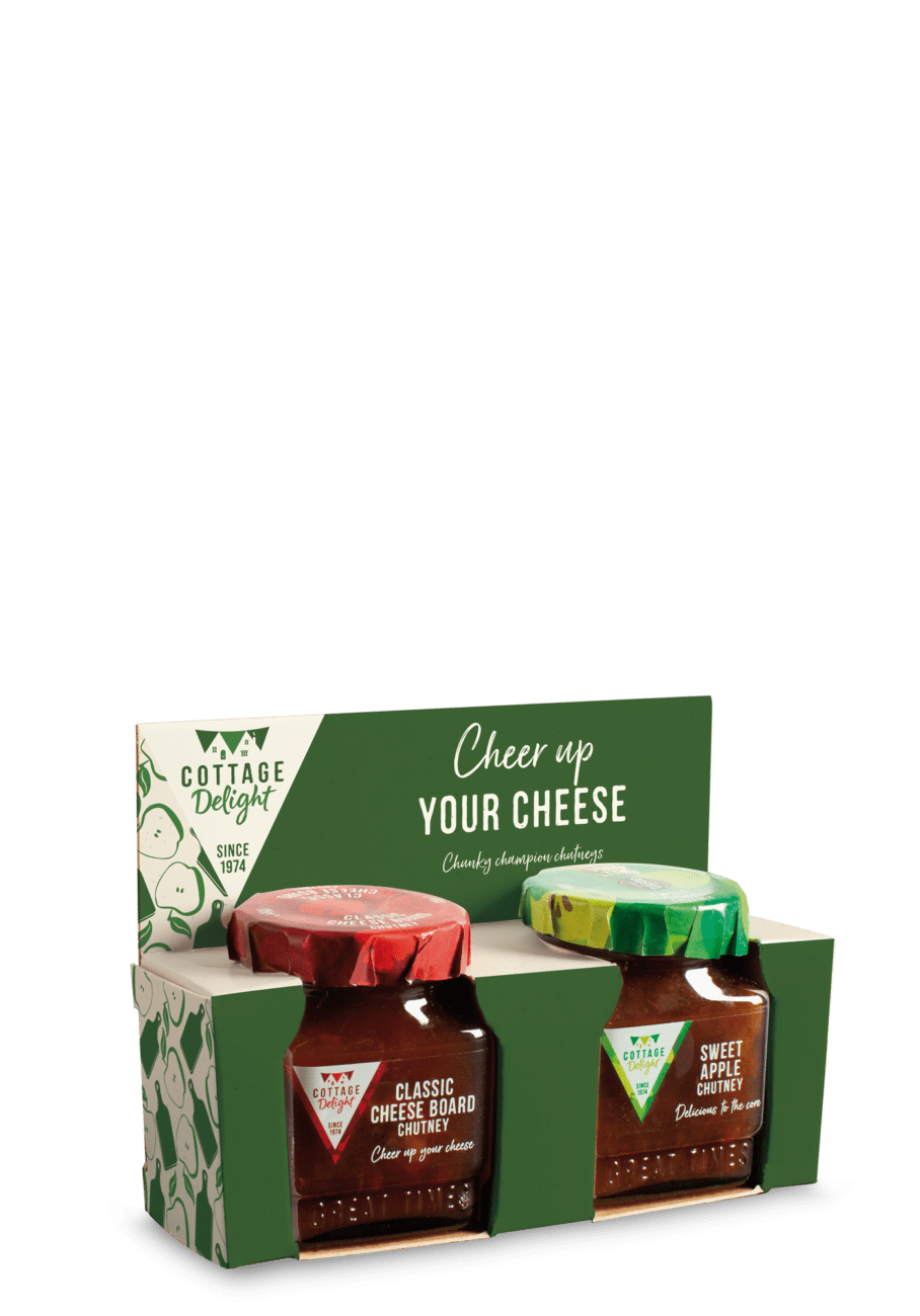 Cheer up your cheese classic cheeseboard chutney and sweet apple chutney