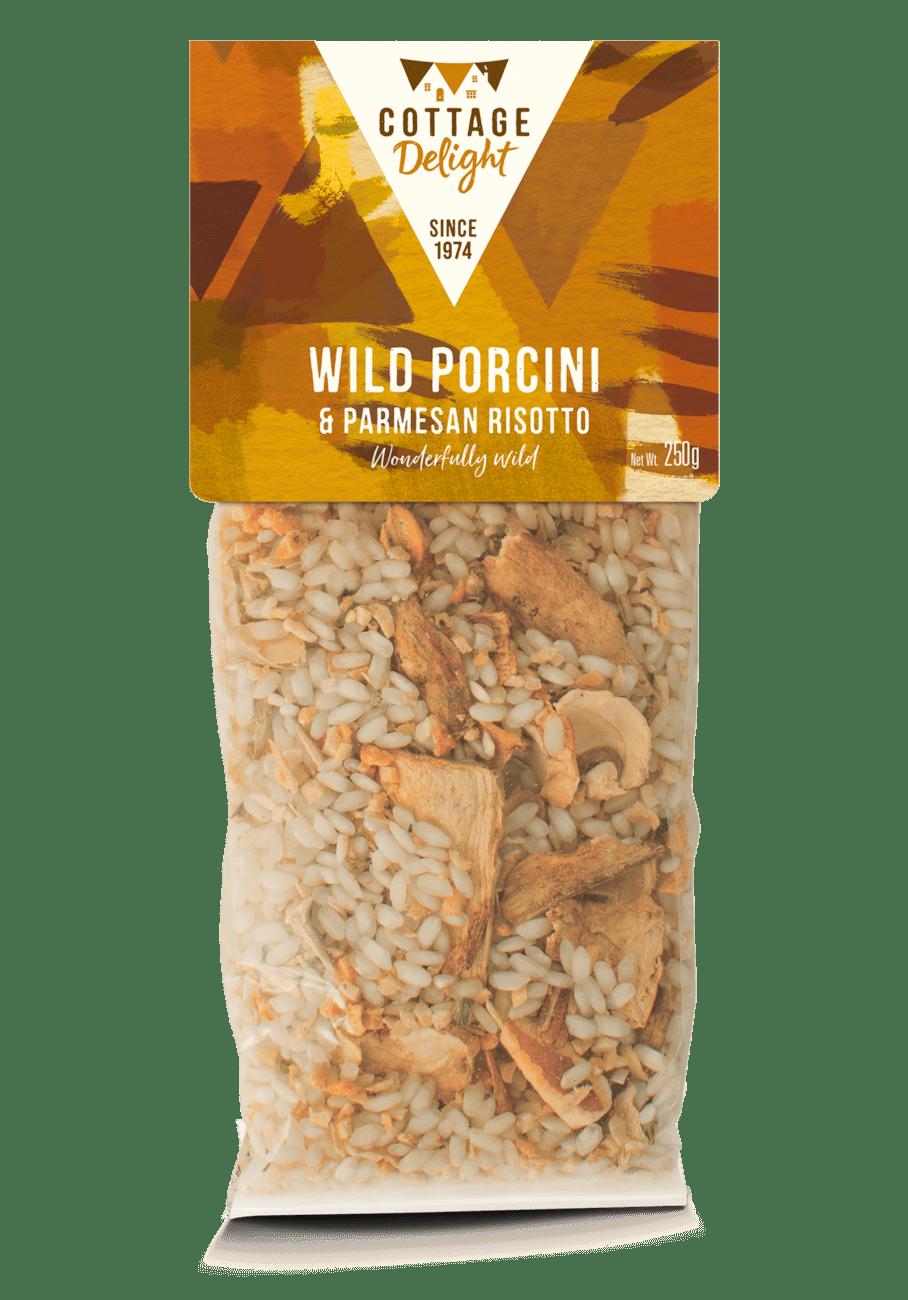 Wild Porcini & Parmesan Risotto
